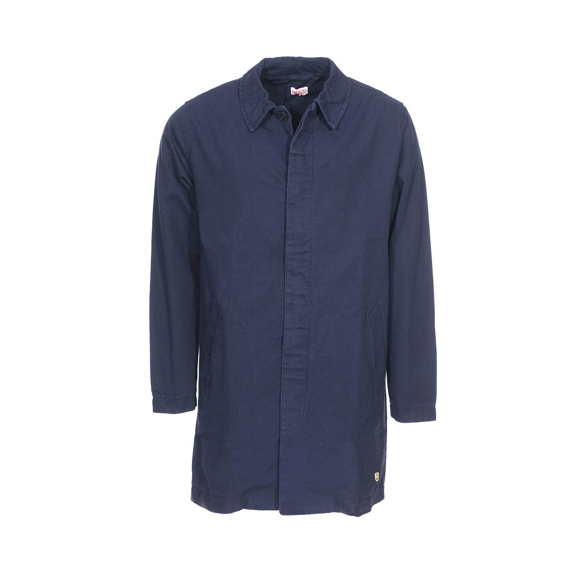 Manteau  heritage en coton bleu marine