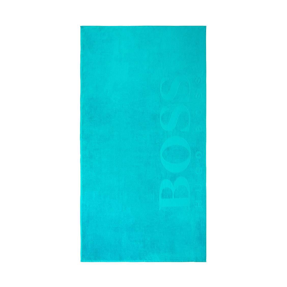 Drap de plage  carved lagoon bleu turquoise