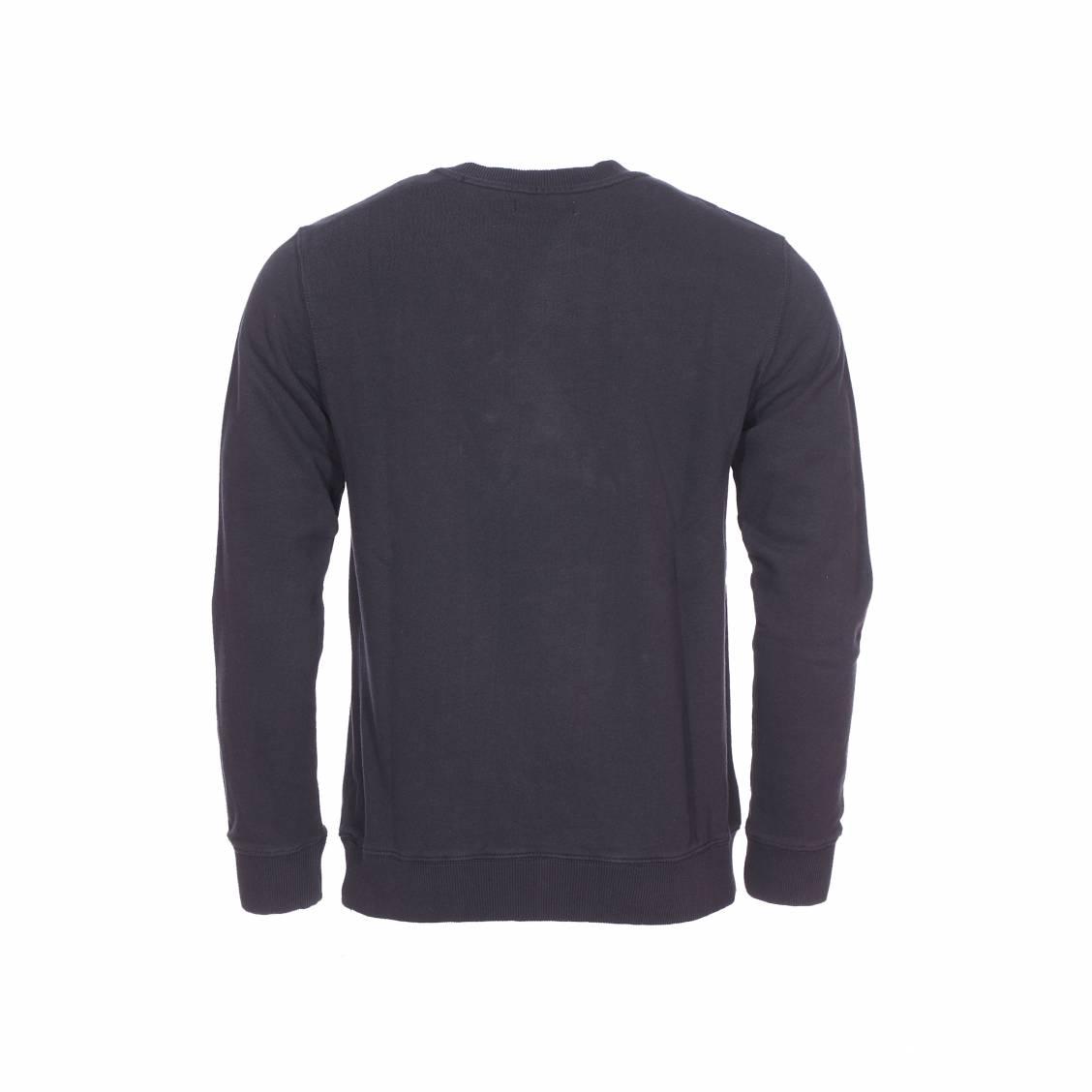 Jeu Bonne Vente Sweat-shirt à grand logo brodé - Noir - NoirCalvin Klein Bas Prix Pas Cher En Ligne yNWmTH