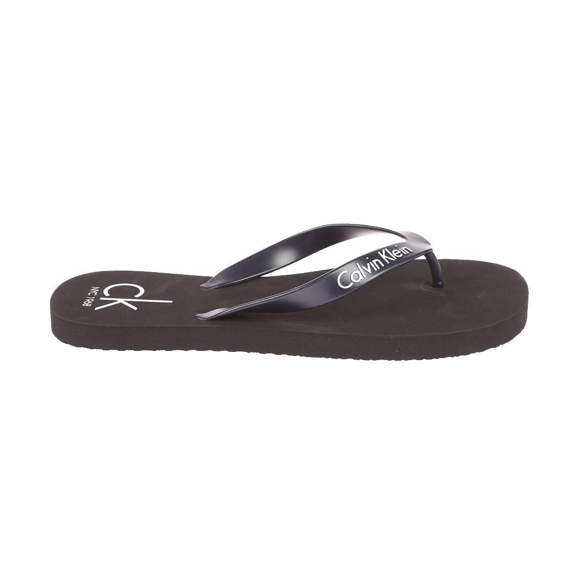 Tongs calvin klein ff sandals noires