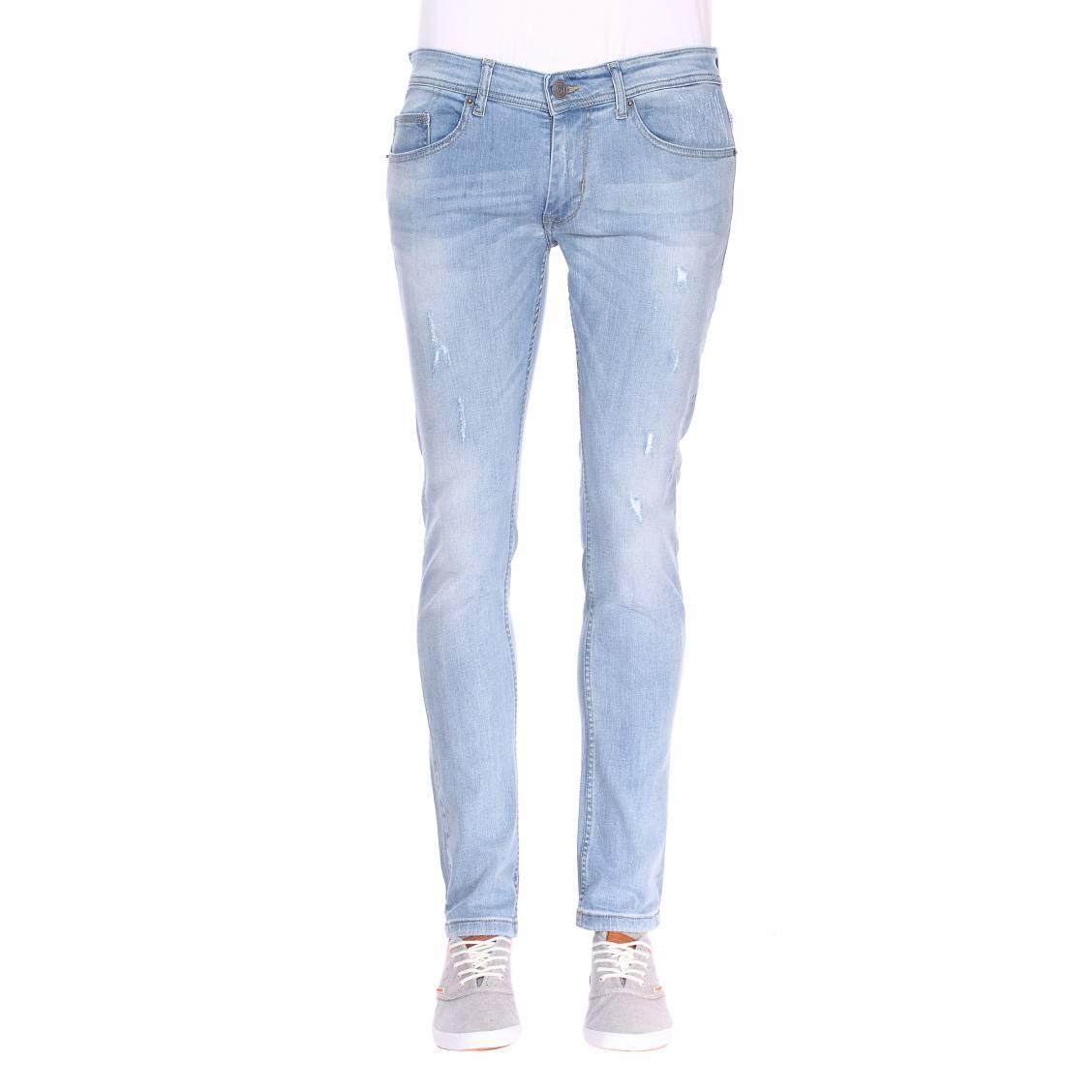 Bleu Rue Des Jean Clair Hommes Coton Stretch Bruce Gaudi Skinny En wzpzT8Yq