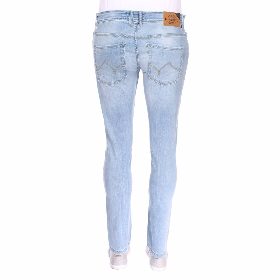 Jean Gaudi Stretch Coton Skinny Bruce Bleu Des ClairRue Hommes En q4ScR5jL3A