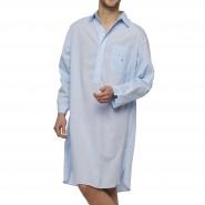 Liquette Arthur en coton bleu ciel