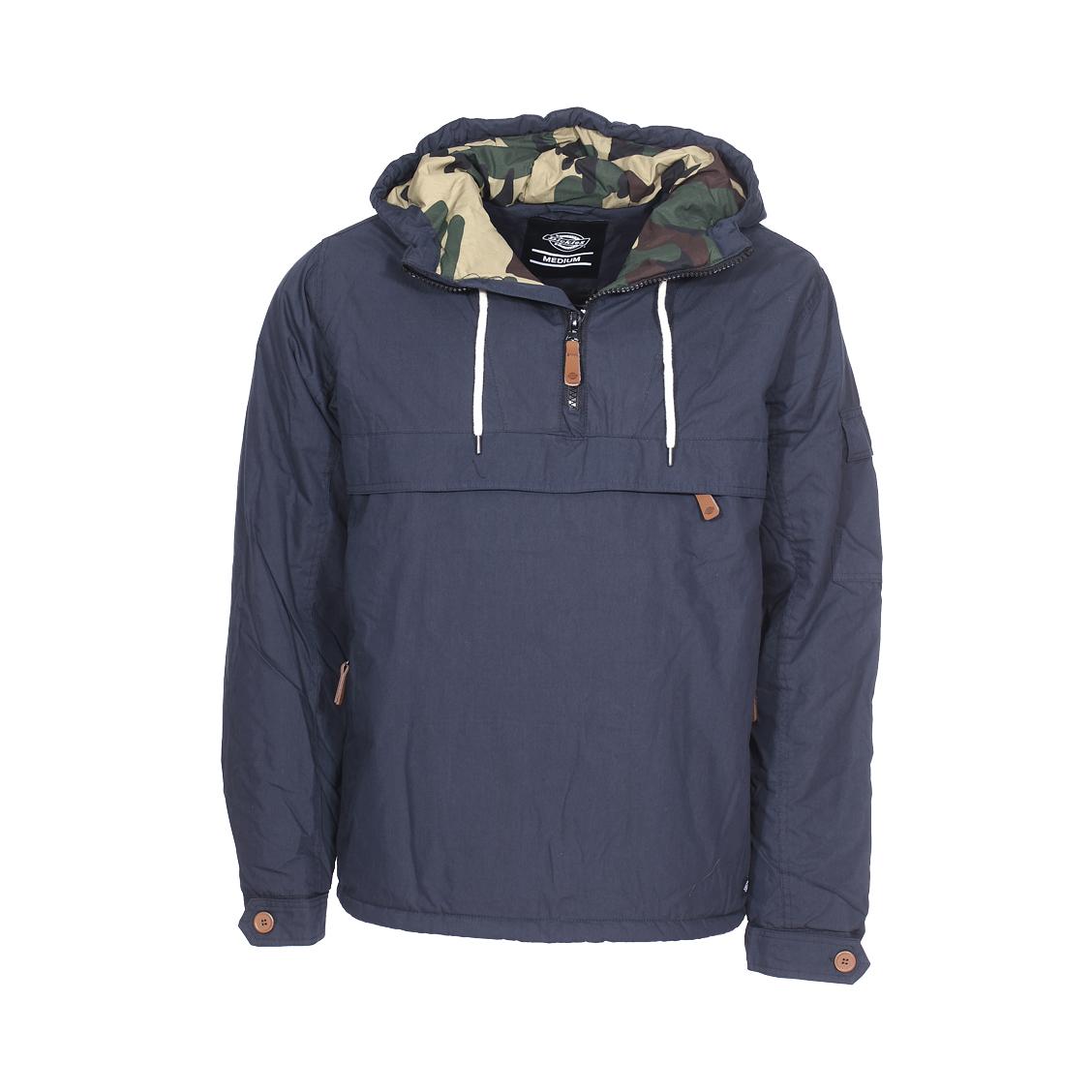 . Veste Dickies  - Coton (70%), nylon (30%) - Doublure : polyester (100%) - Bleu marine
