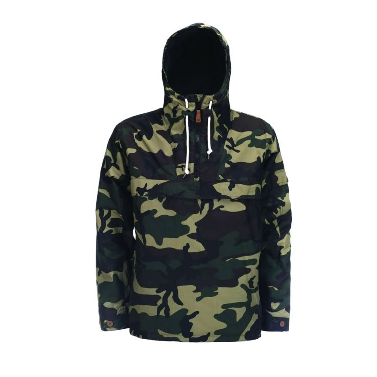Veste à capuche Milford Dickies à motif camouflage vert et kaki