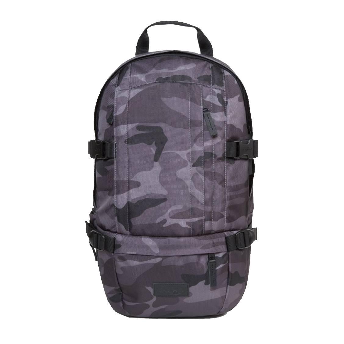 Sac à dos Floid Eastpak en imprimé camouflage gris   Rue Des Hommes de5e49312080
