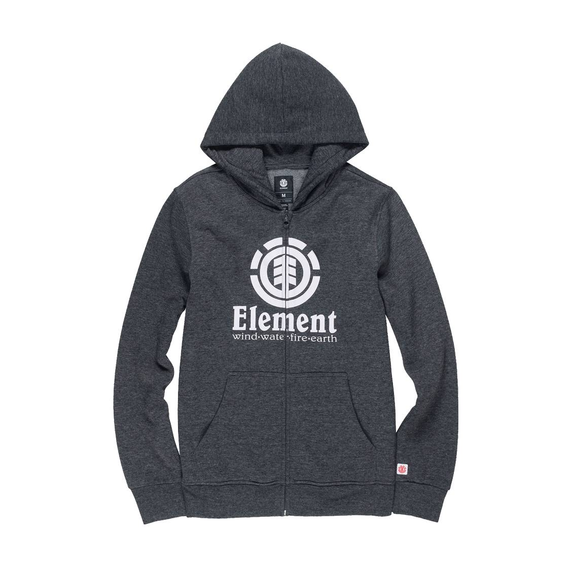 Element Sweat Capuche À Zippé En Anthracite Junior Molleton Gris clK1TFJ