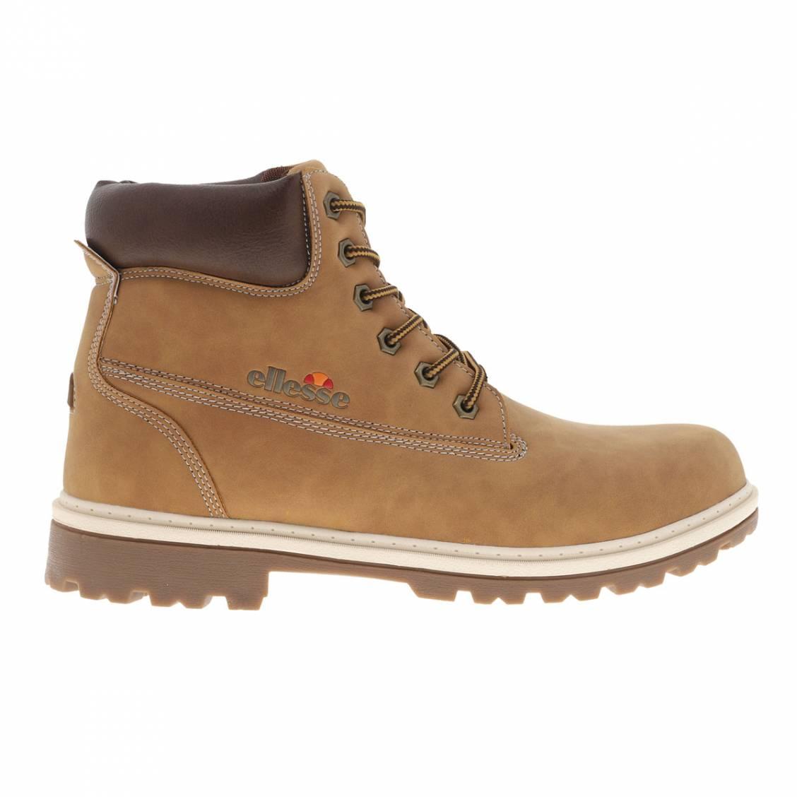 cd57ab9ebdd Boots hautes Ellesse Prime marron ...