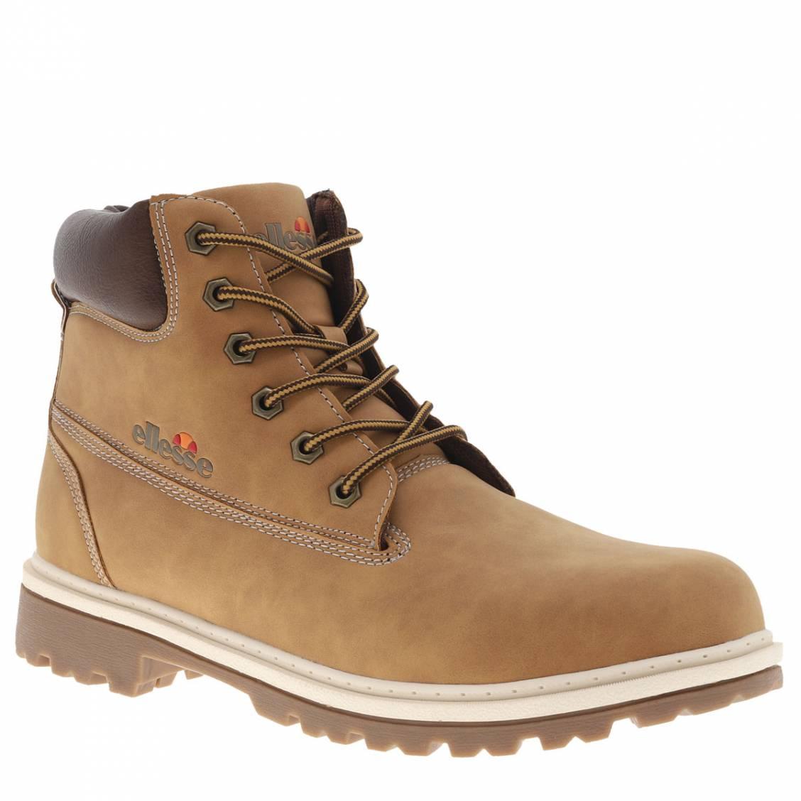 3a8472d6c06 Boots hautes Ellesse Prime marron Boots hautes Ellesse Prime marron ...