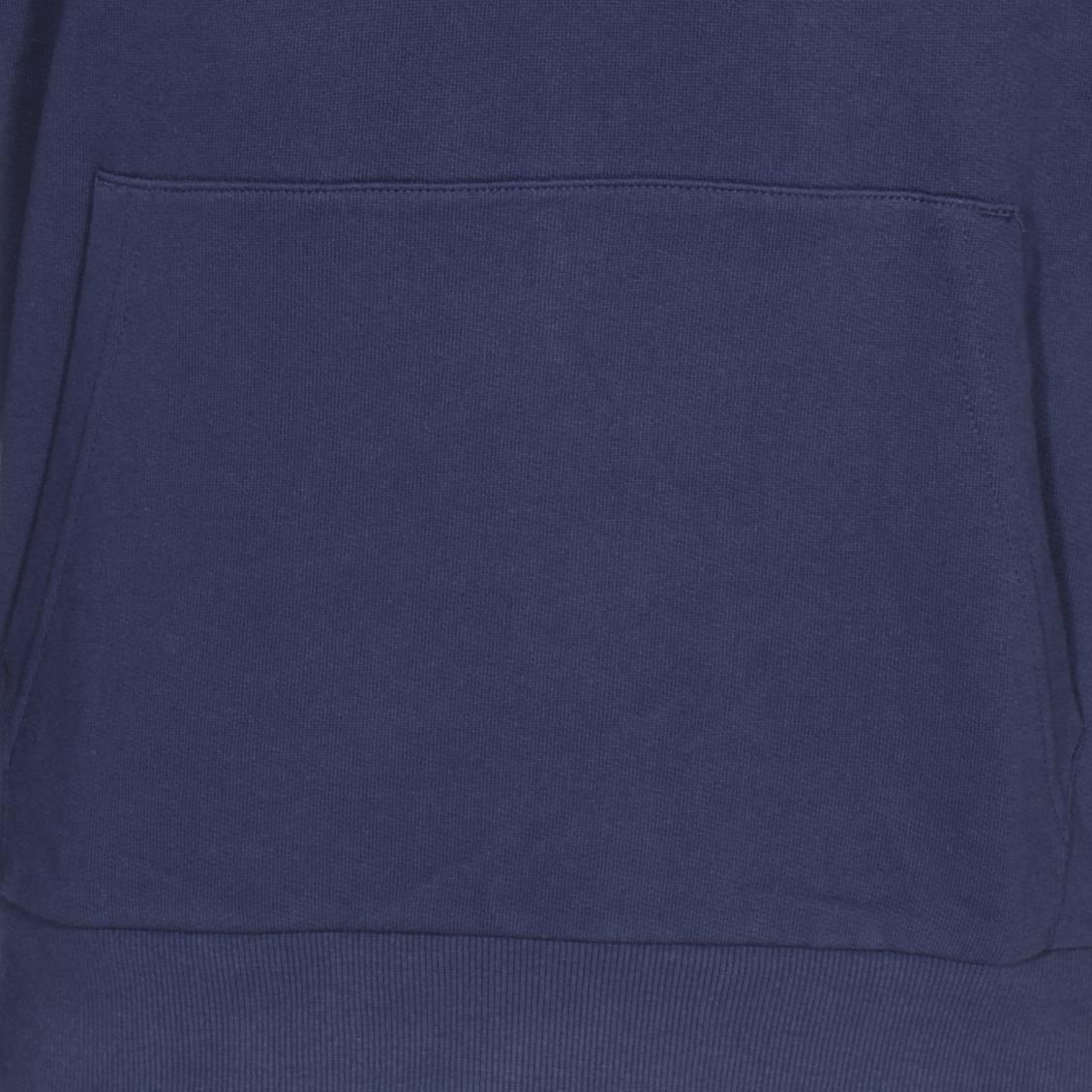 Fila Sweat à capuche Shawn en coton bleu marine floqué