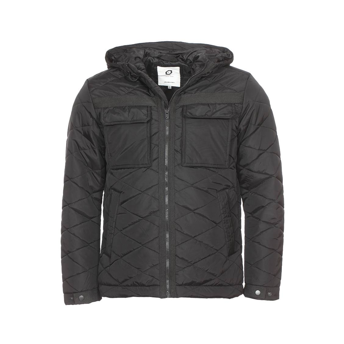 Veste matelassée jack and jones jcobone noire