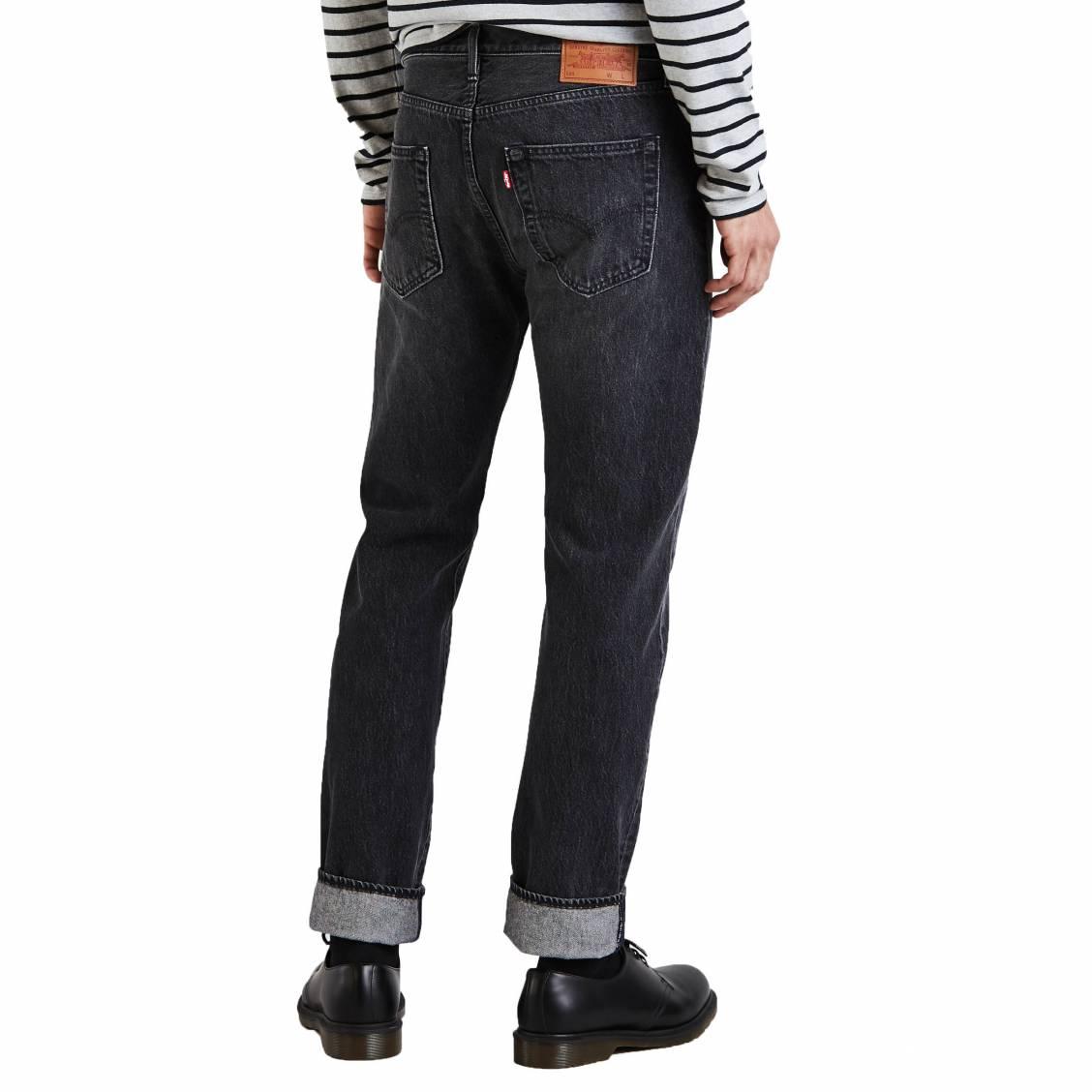 089a1ba2b04 Jean Levis 501 Original fit Mlk Warp en coton stretch gris fonce-3-0 1128x1128.jpg