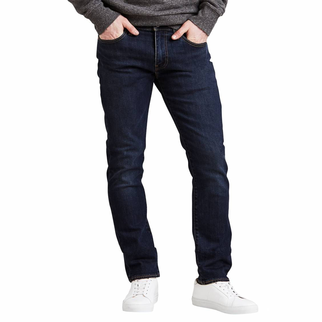 Bleu Coton Jean Levi's Fit Stretch Slim Brut Adapt Zebroid En 511 Bg1zwBA