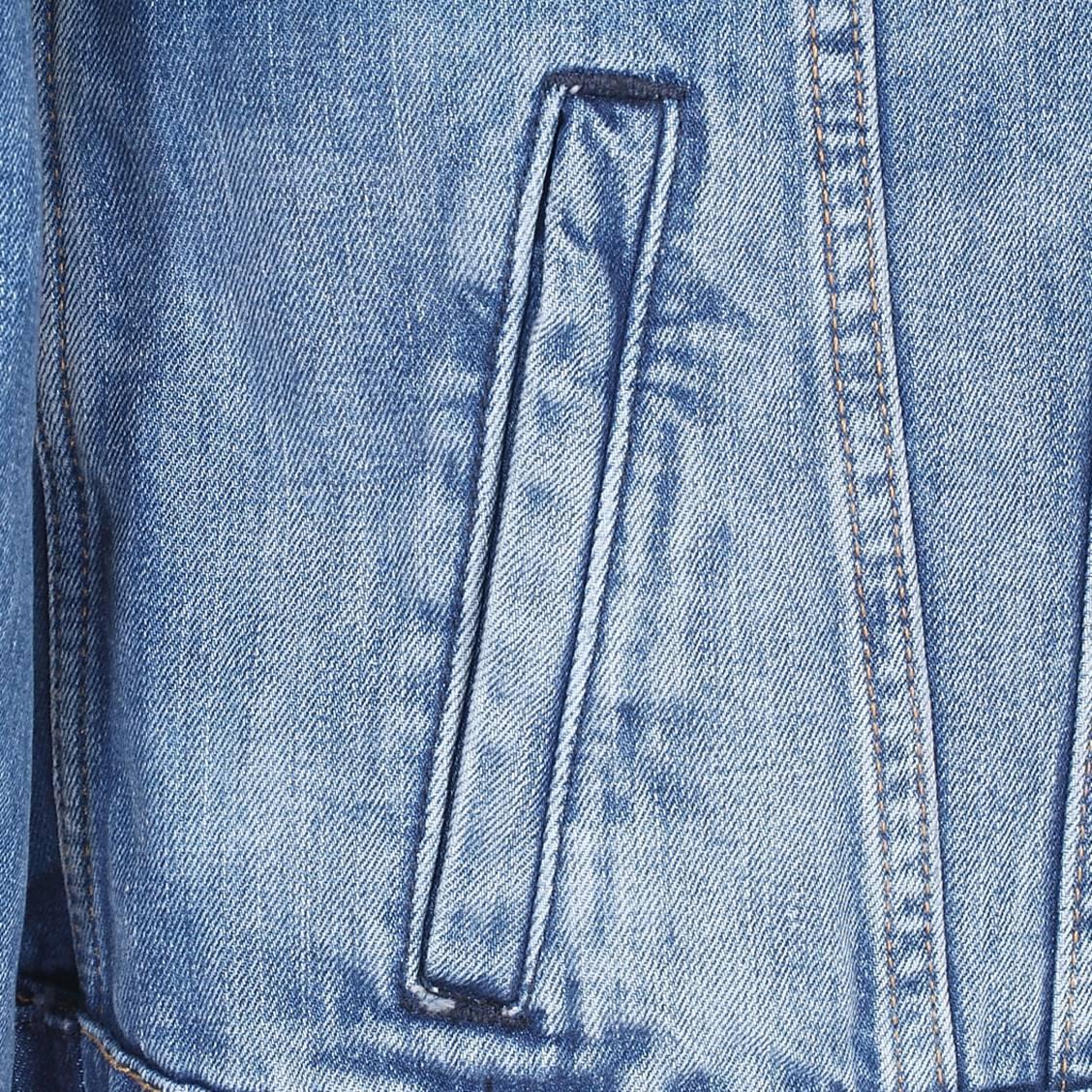 Rue Jean Bleu Hommes En Jeans Pepe Veste Délavé Usé Des Pinner Effet nzBxwq5Xq