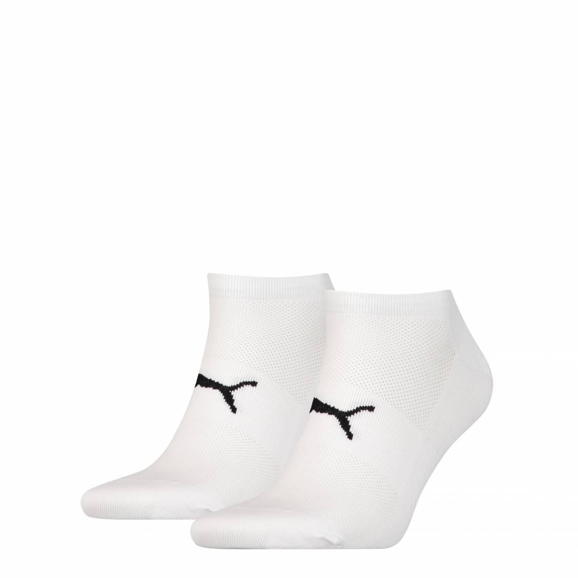 achats france pas cher vente pourtant pas vulgaire Lot de 2 paires de socquettes Puma Performance Train Light Sneaker en  microfibre blanche | Rue Des Hommes