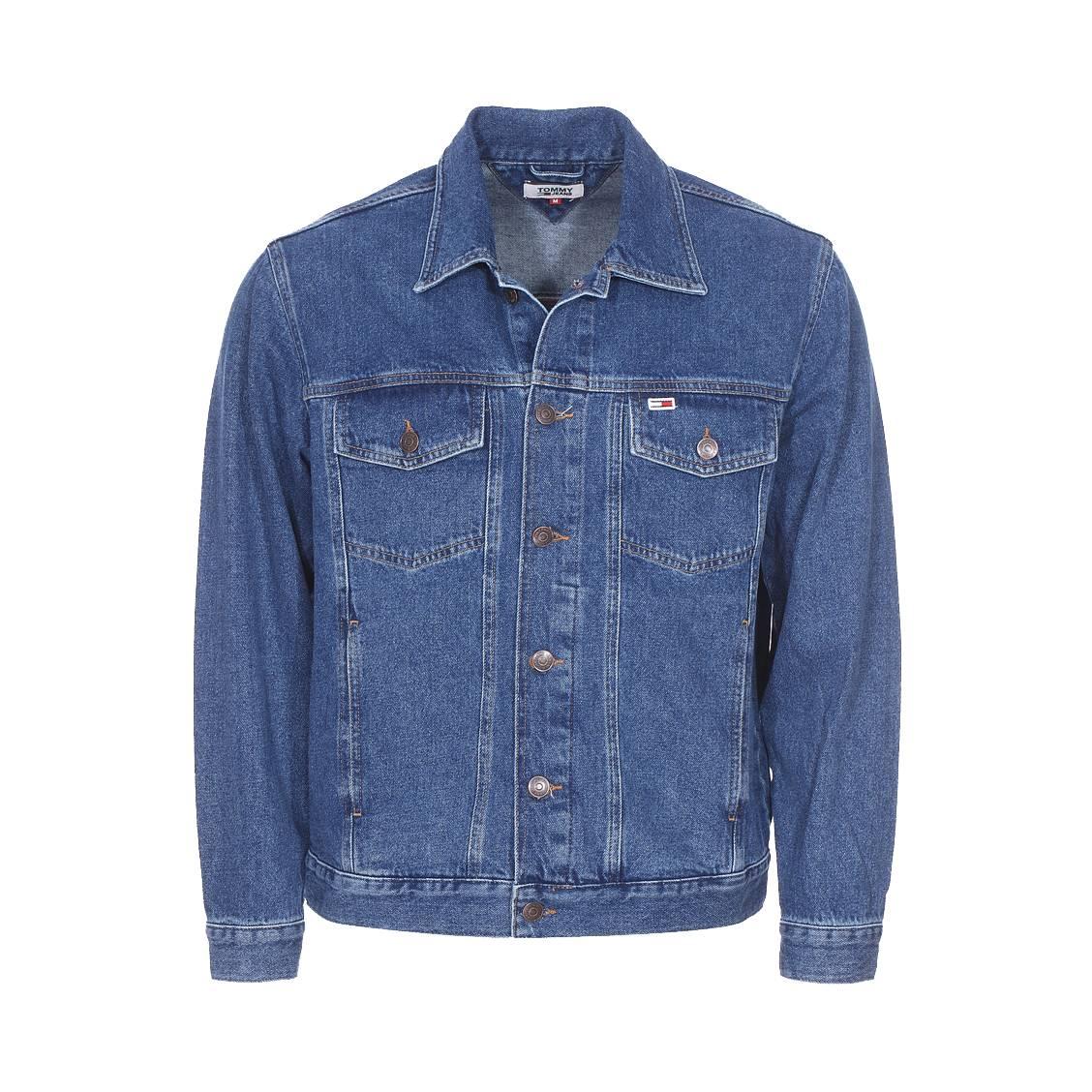 Veste en jean  classics en coton bleu