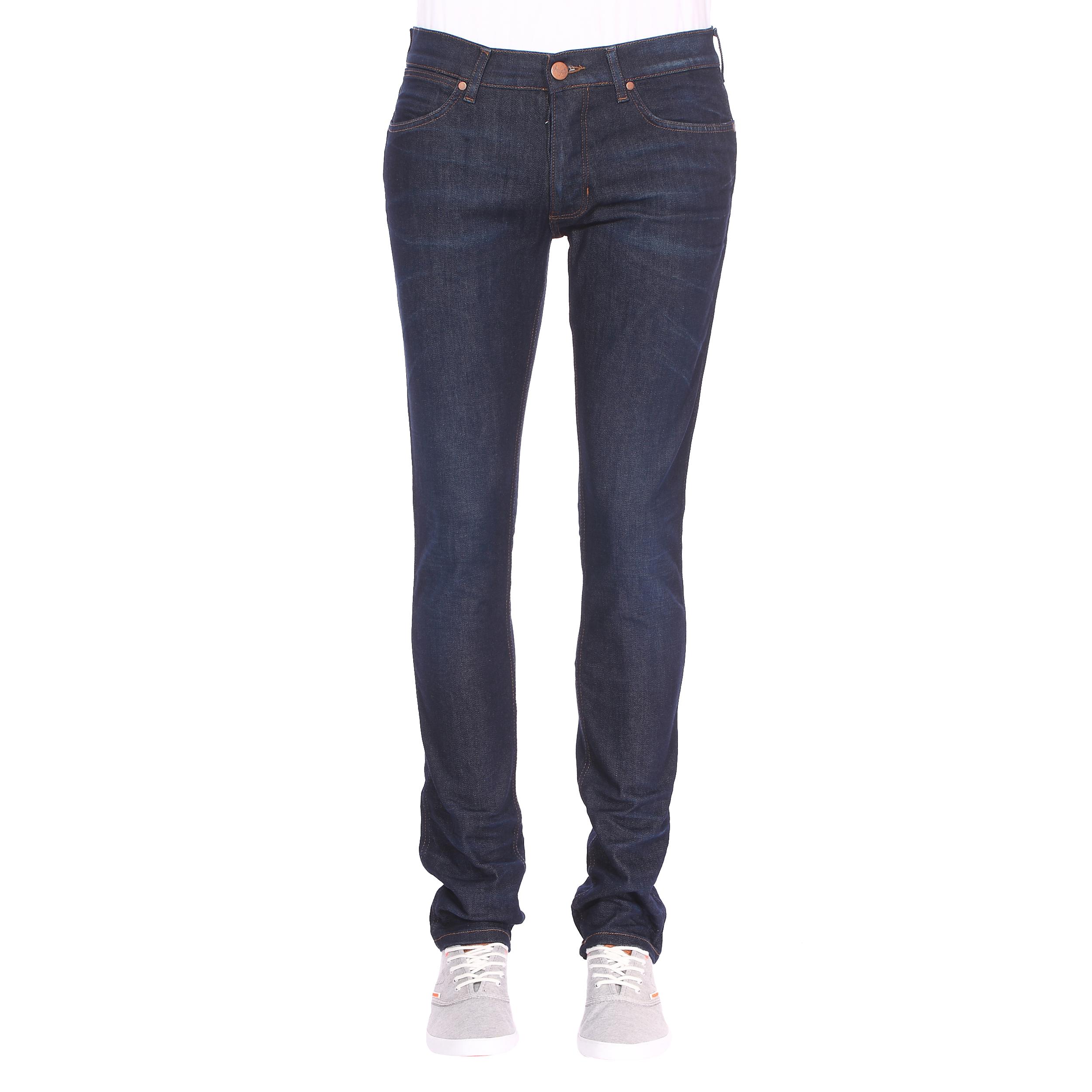 Jean slim  spencer en coton mélangé stretch bleu brut