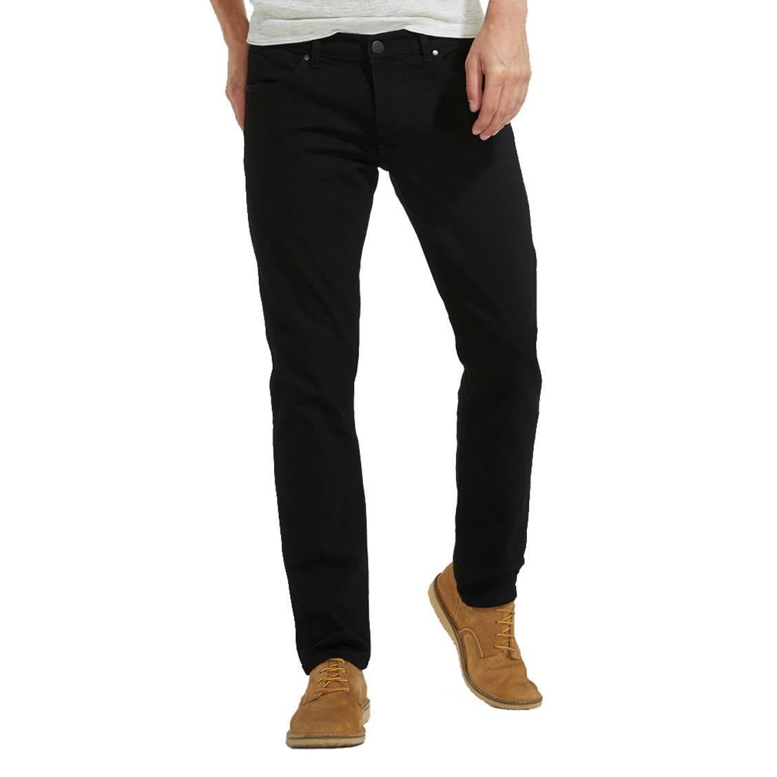 Jean slim  spencer en coton mélangé stretch noir