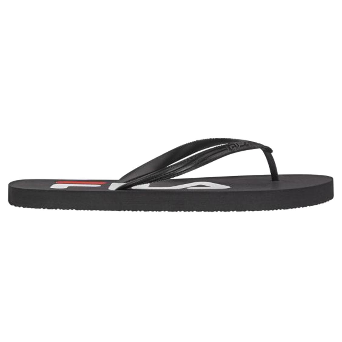 Tongs  troy slipper noires