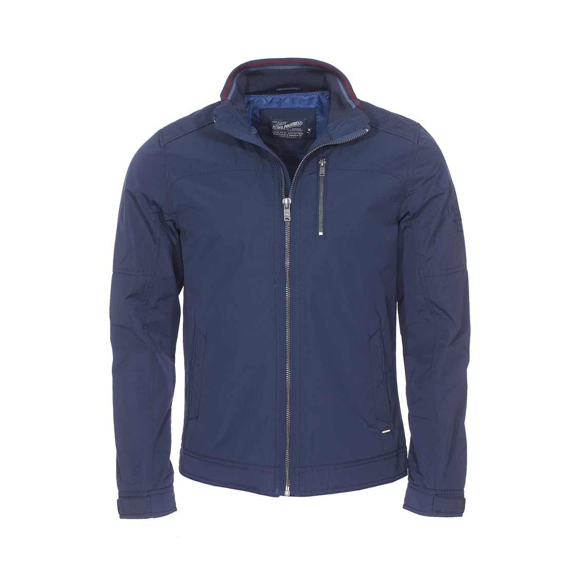 Blouson zippé  bleu marine