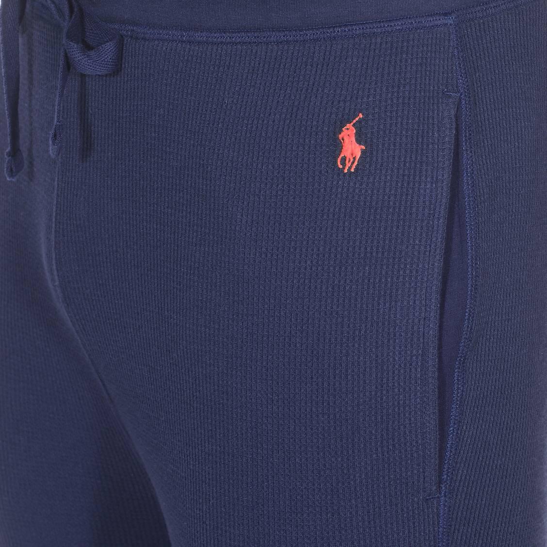 MarineRue Pantalon De Bleu Des Hommes En Jogging Lauren Gauffré Polo Molleton Ralph Léger 3RLj54A