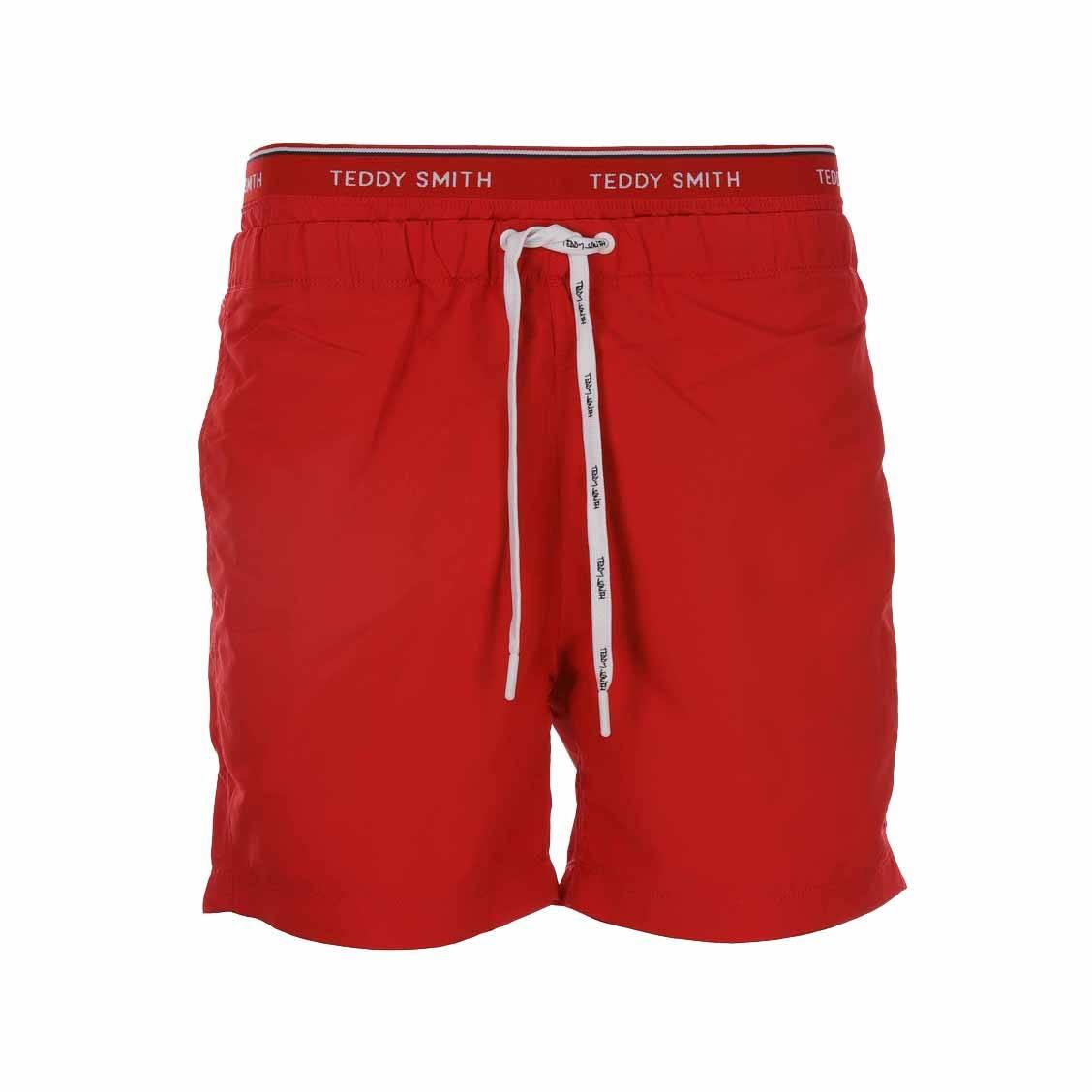 Short de bain Teddy Smith Saker rouge