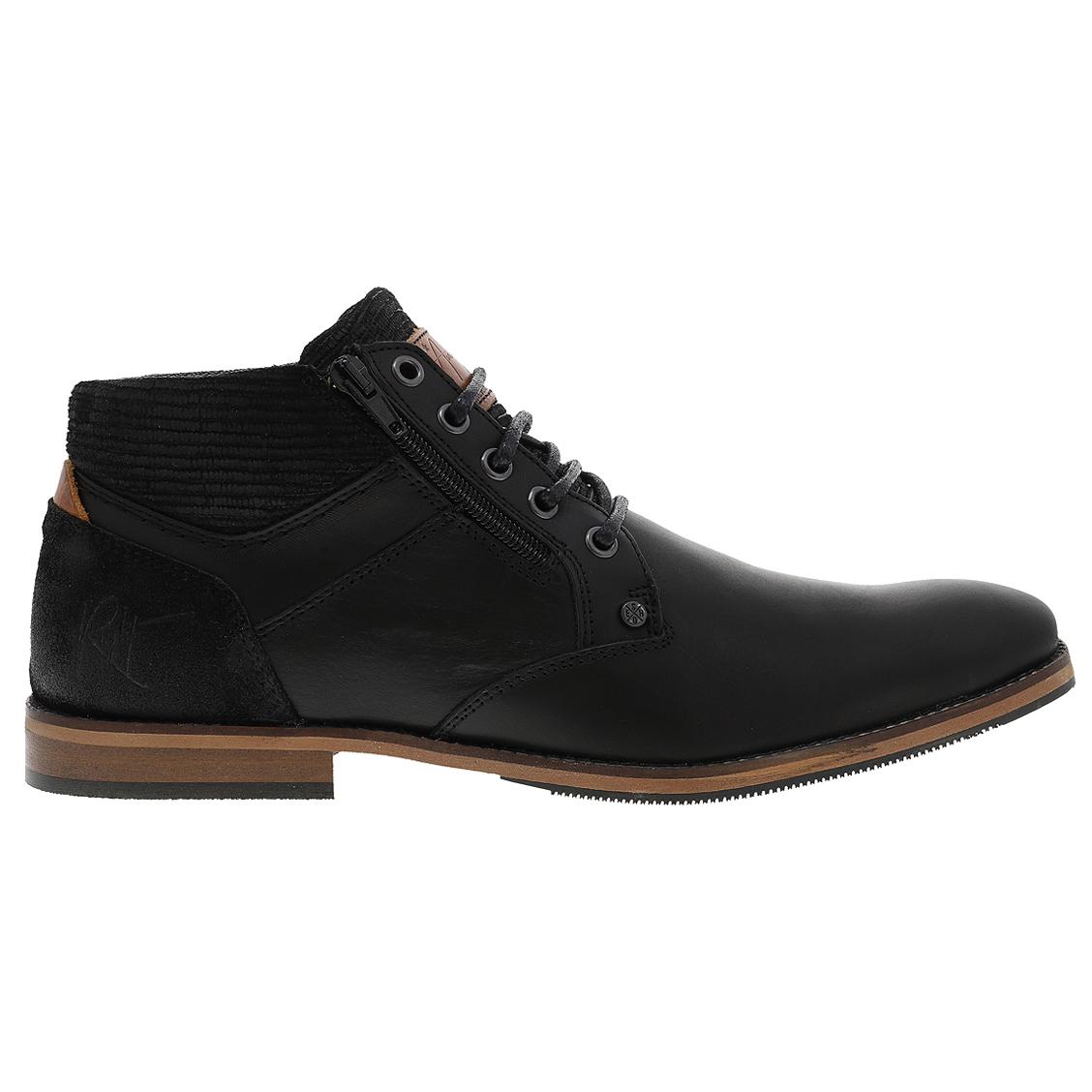 Chaussures Bullboxer en cuir noir. Chaussures Bullboxer en cuir noir