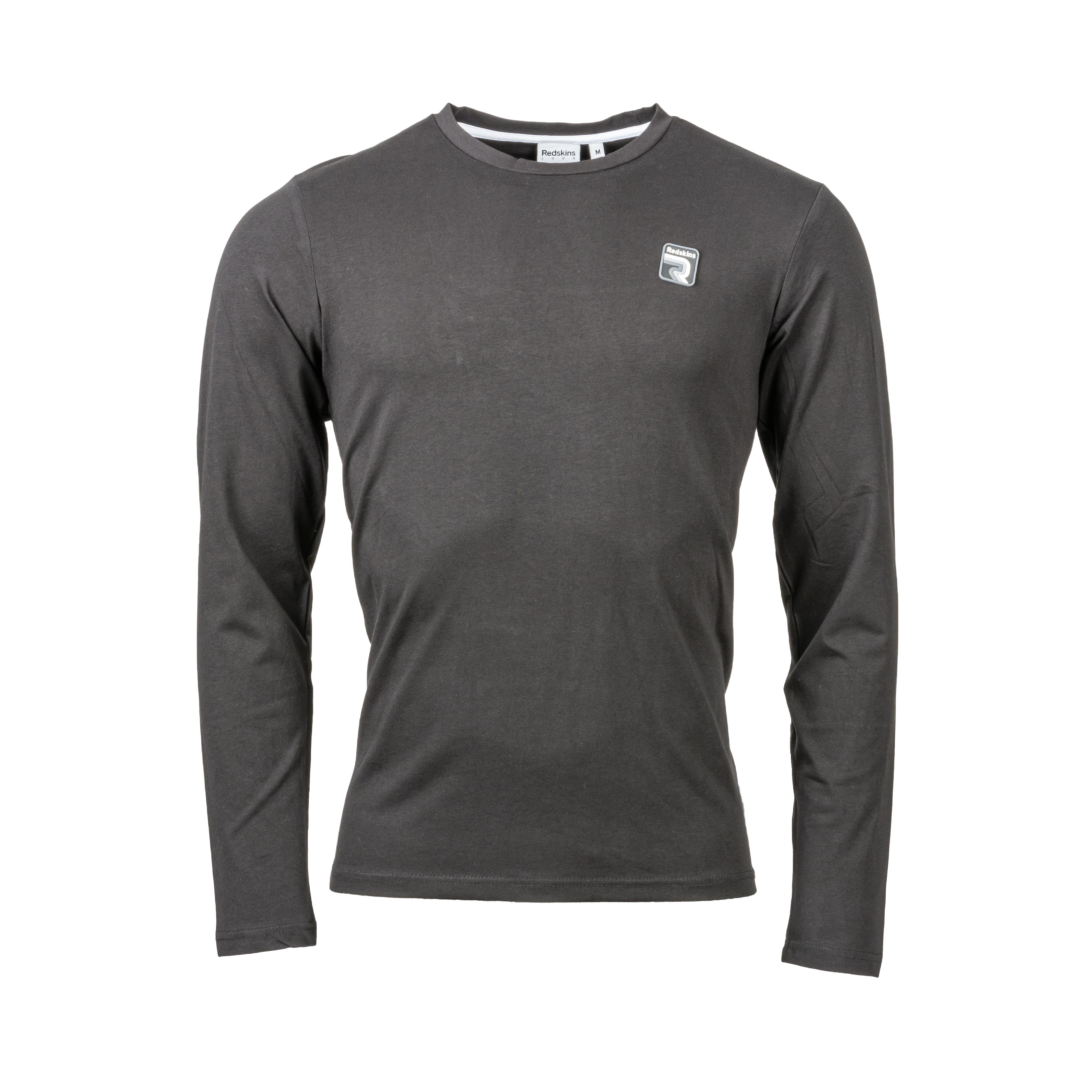 Tee-shirt col rond  walt en coton stretch noir
