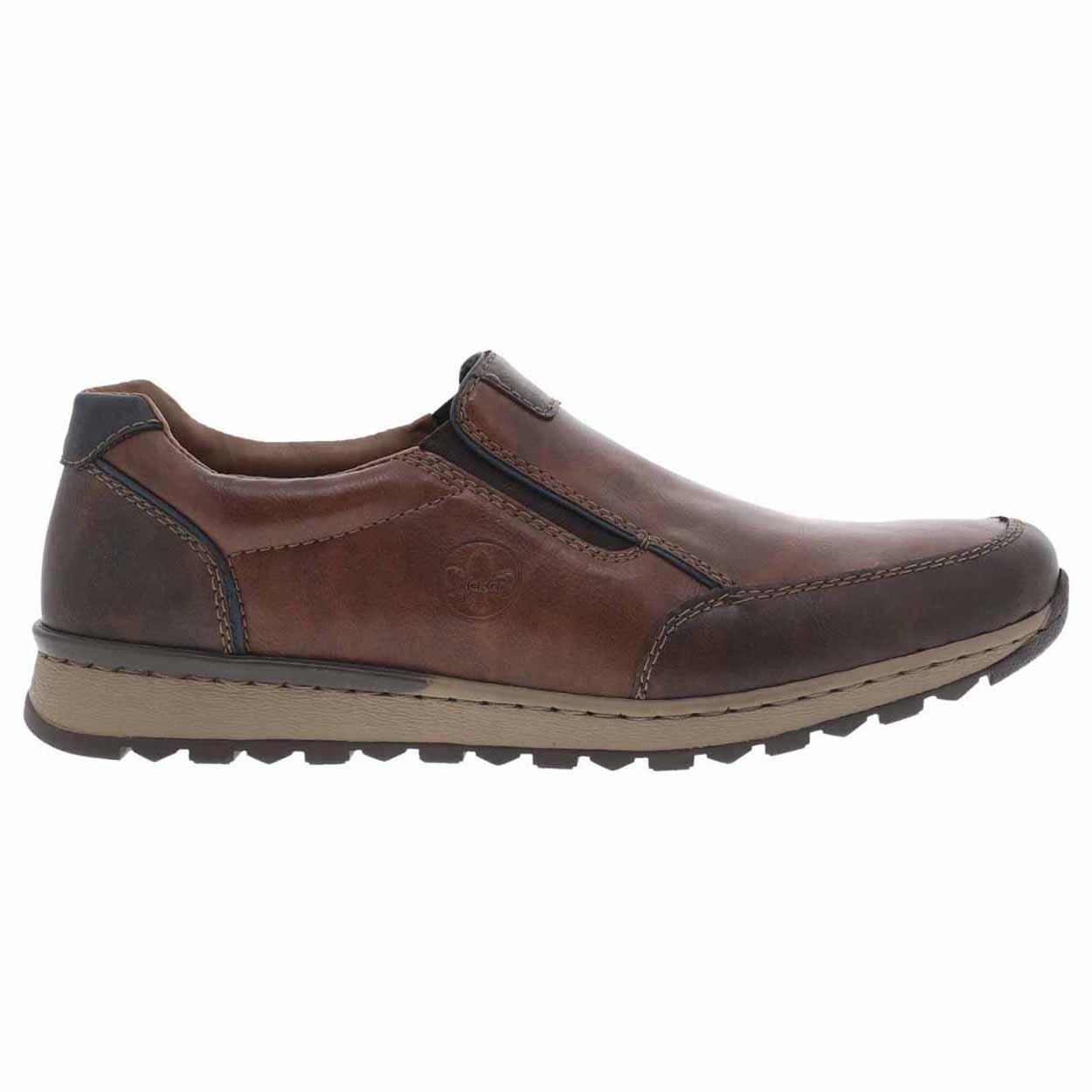 Chaussures de ville Rieker marron. Chaussures de ville Rieker marron