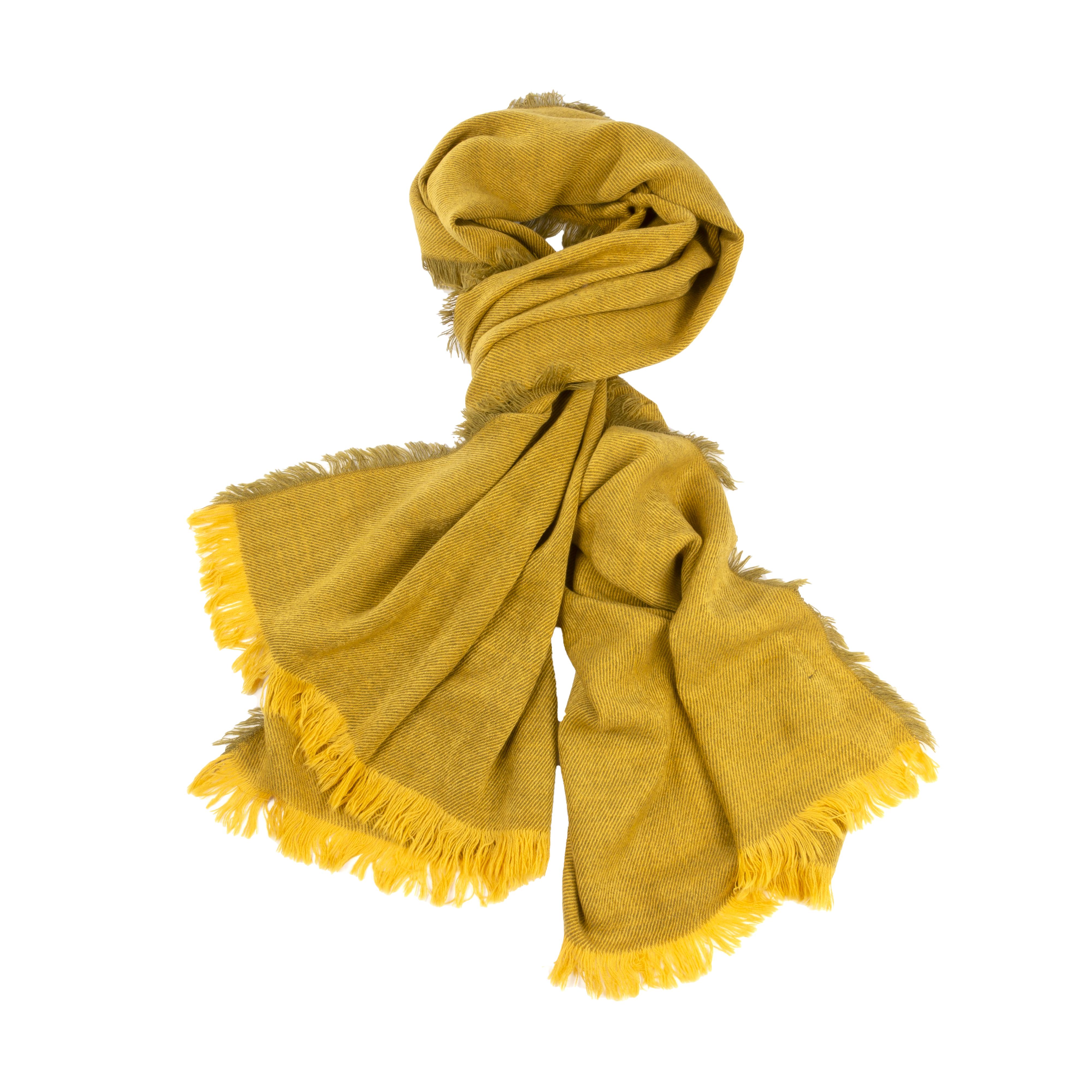 Echarpe Teddy Smith Samba jaune moutarde