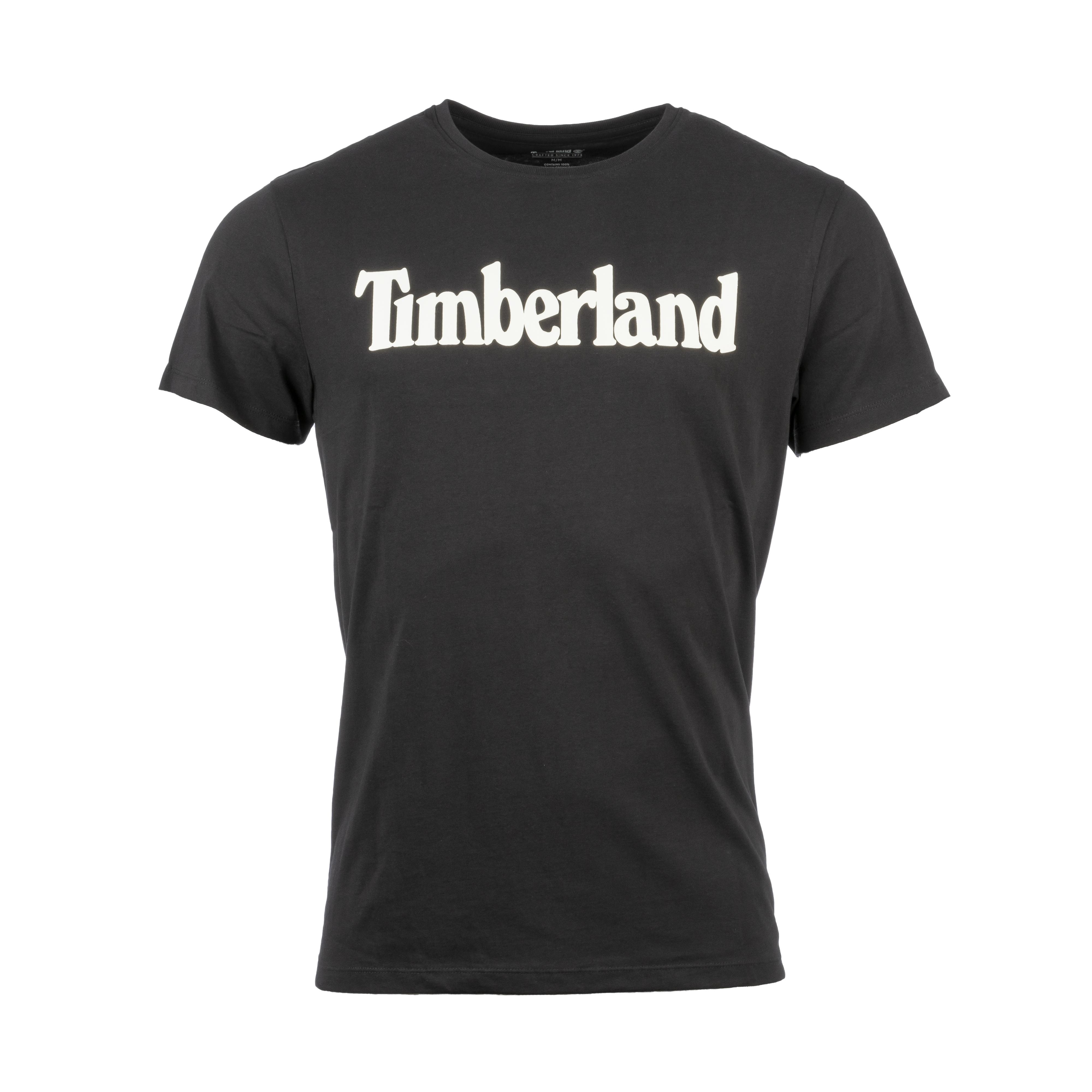 Tee-shirt  en coton noir
