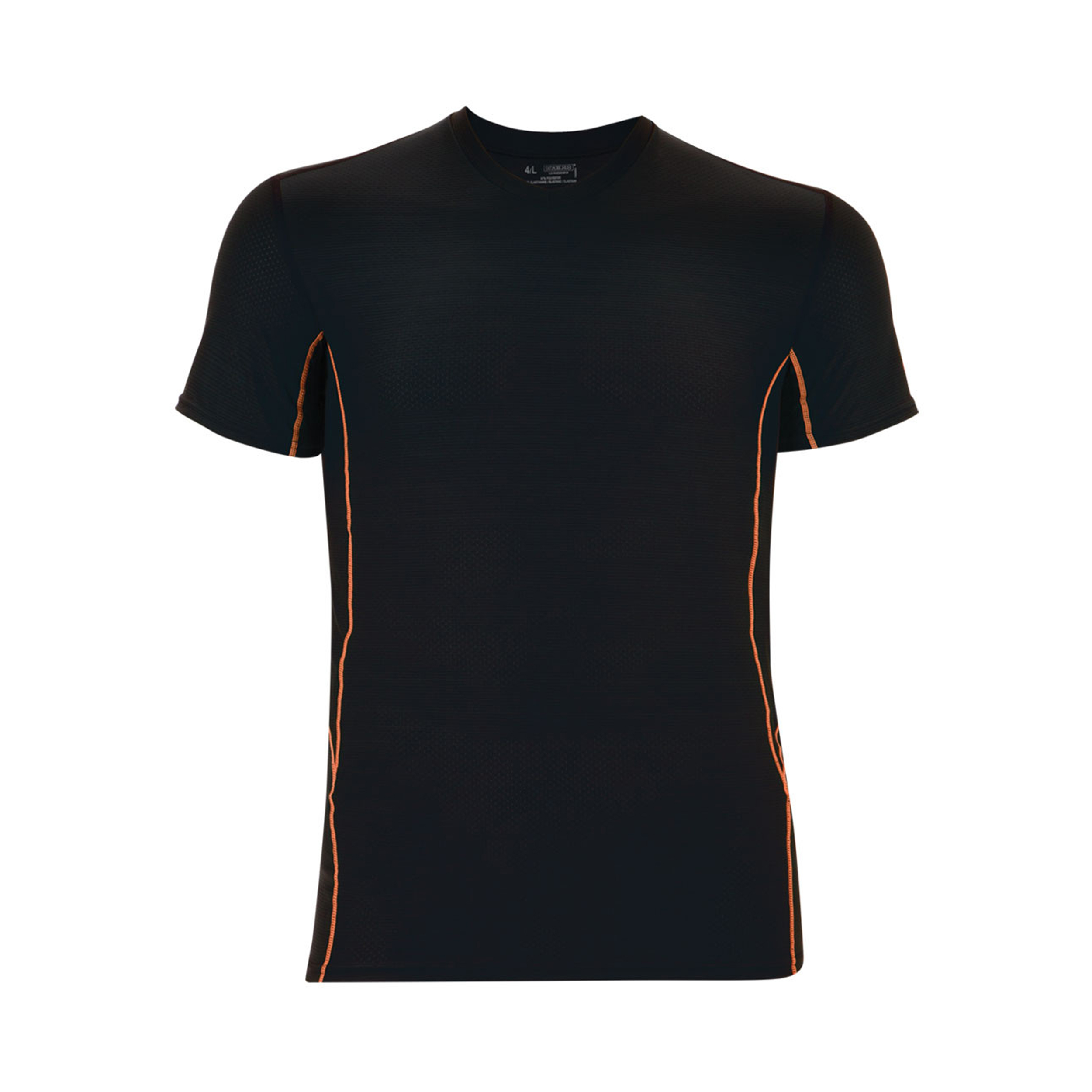 Tee-shirt col v  performance ultra ventilation noir