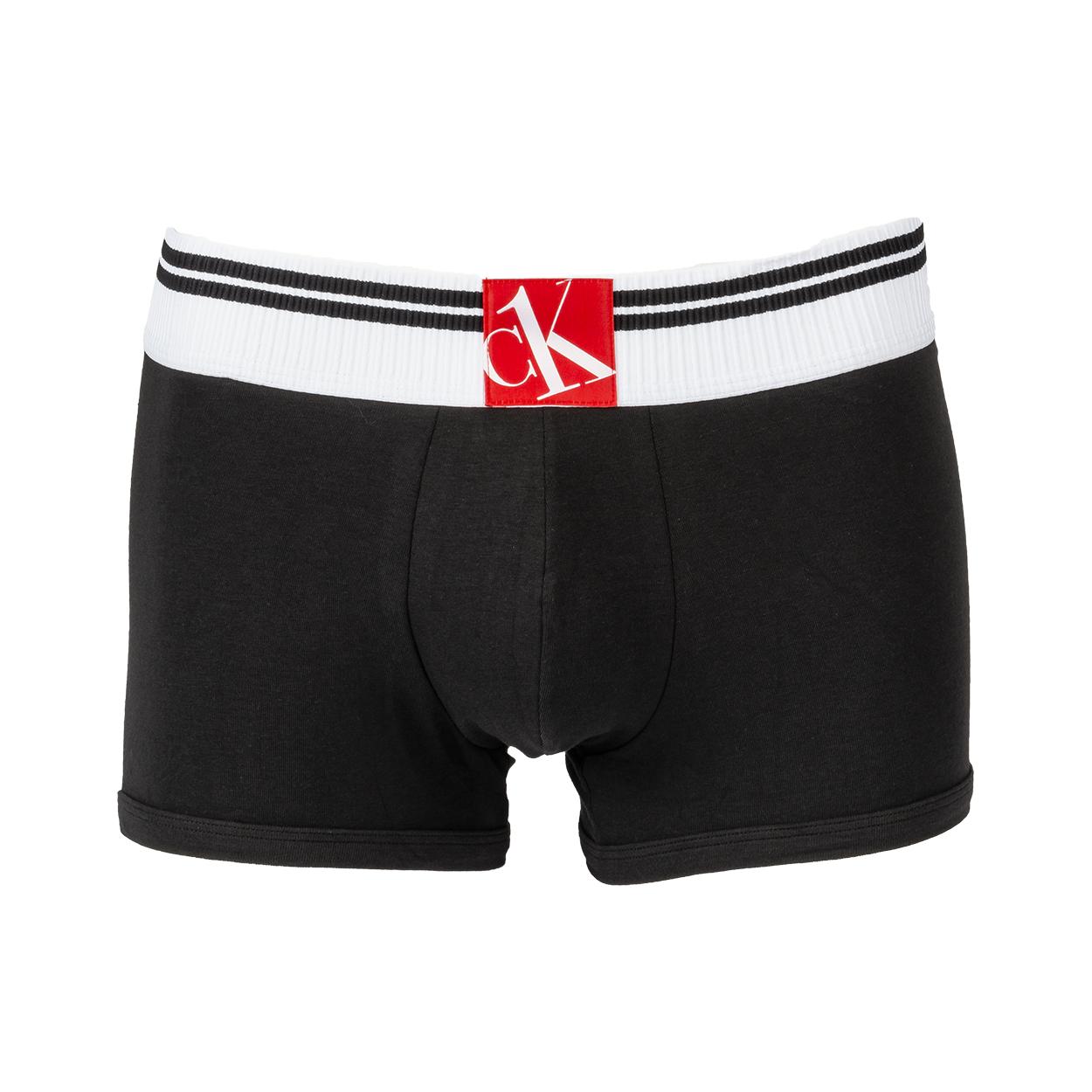 Boxer calvin klein trunk en coton stretch noir