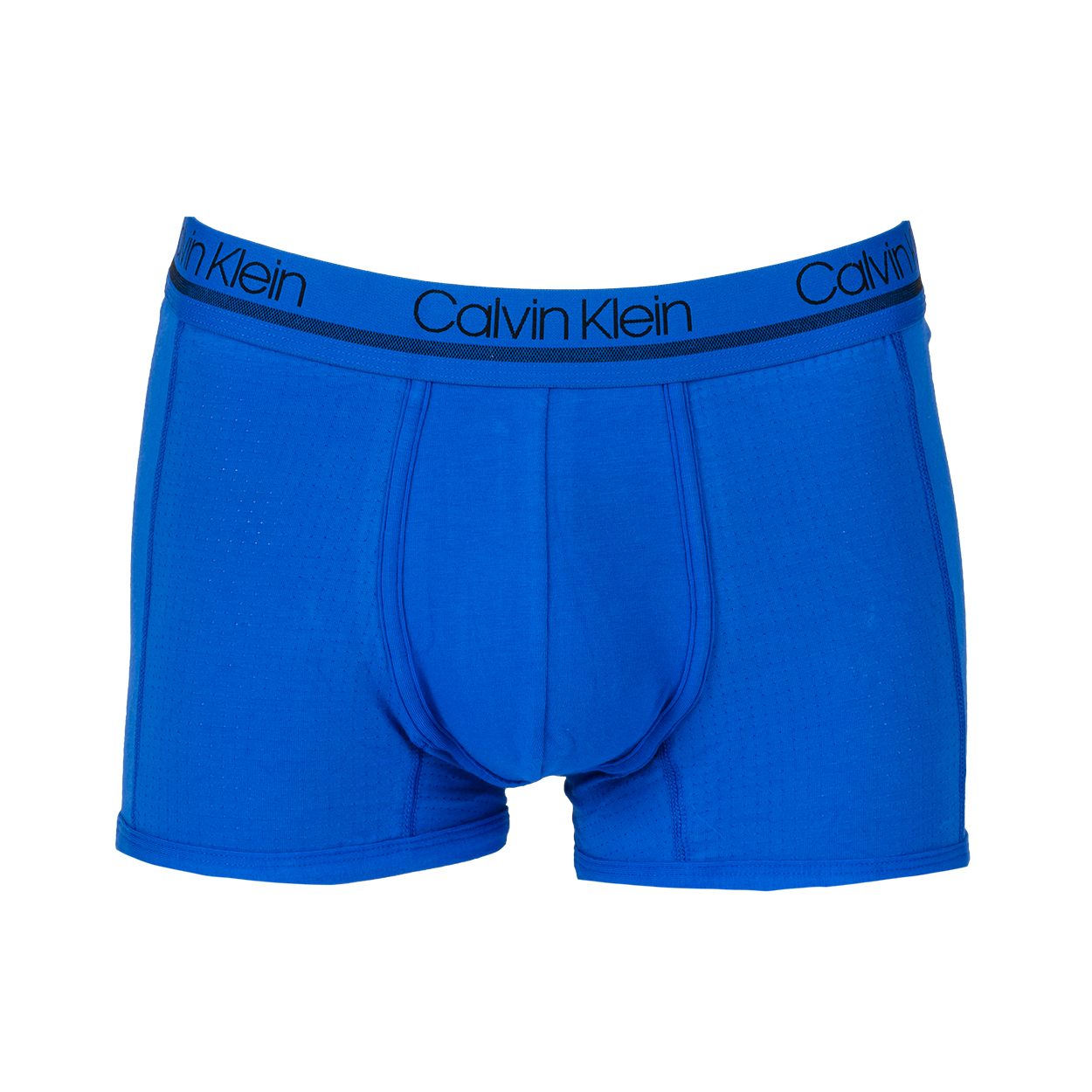 Boxer calvin klein en coton stretch bleu