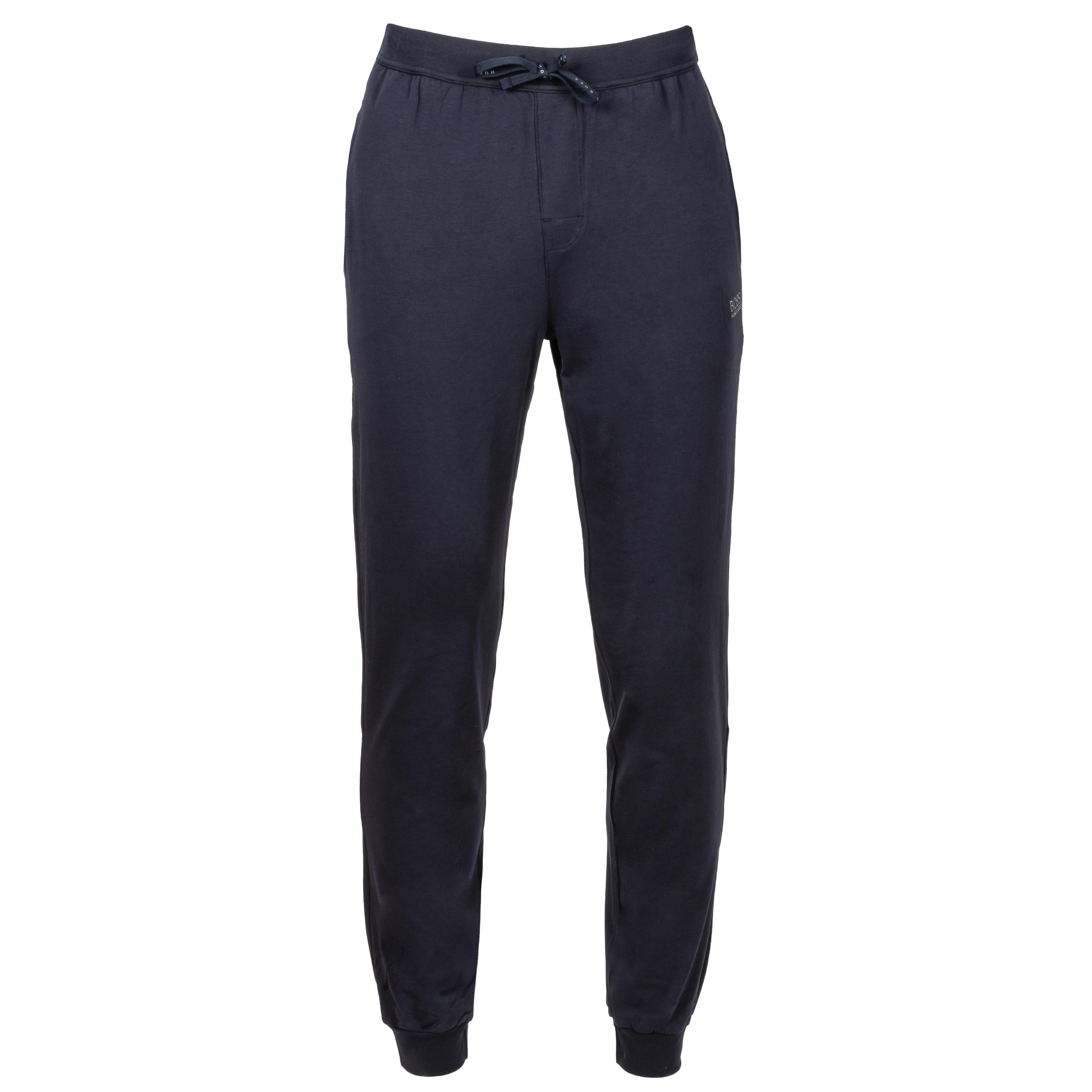 Pantalon d\'intérieur  en coton stretch bleu nuit