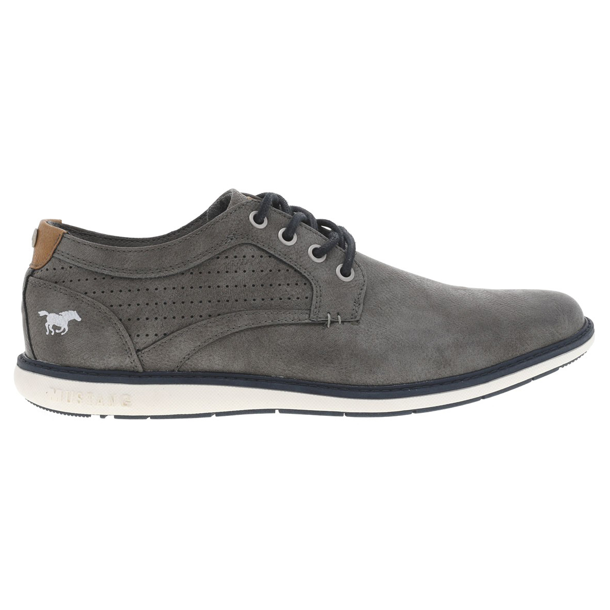 Chaussures de ville Mustang gris anthracite. Chaussures de ville Mustang gris anthracite