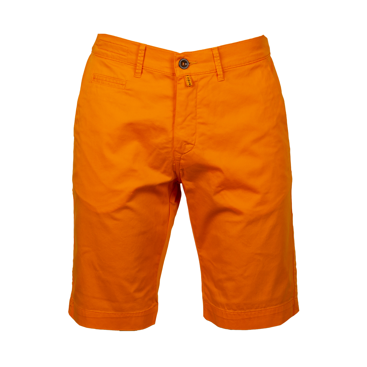Short chino  en coton orange