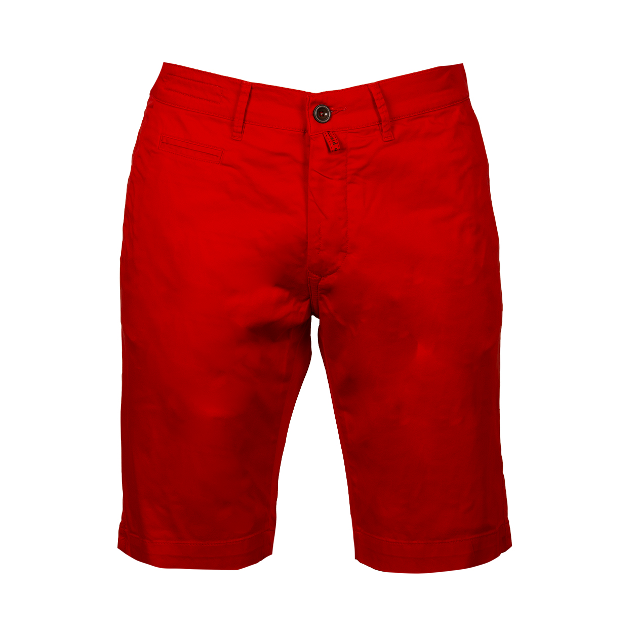Short chino  en coton rouge