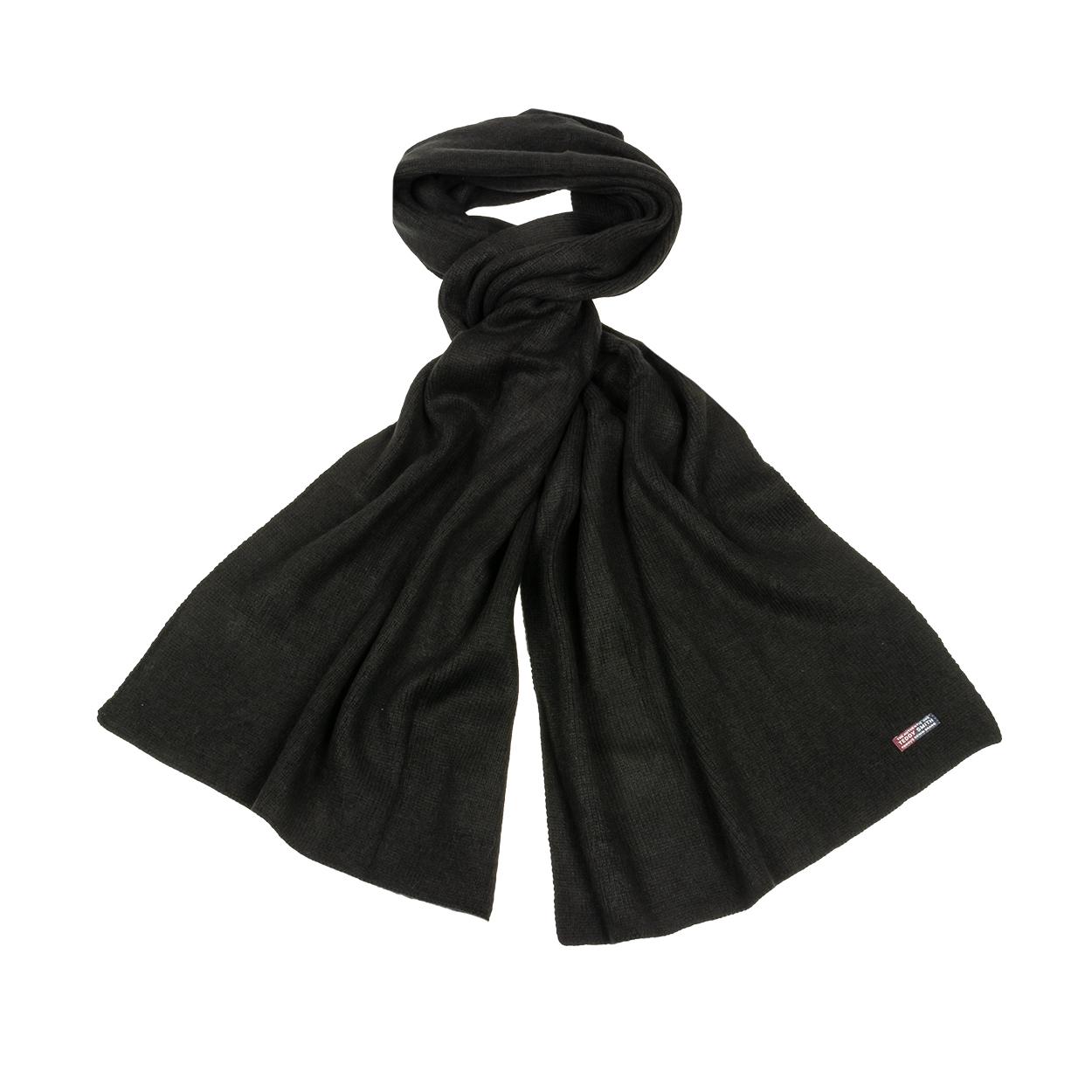 Echarpe  lino noir