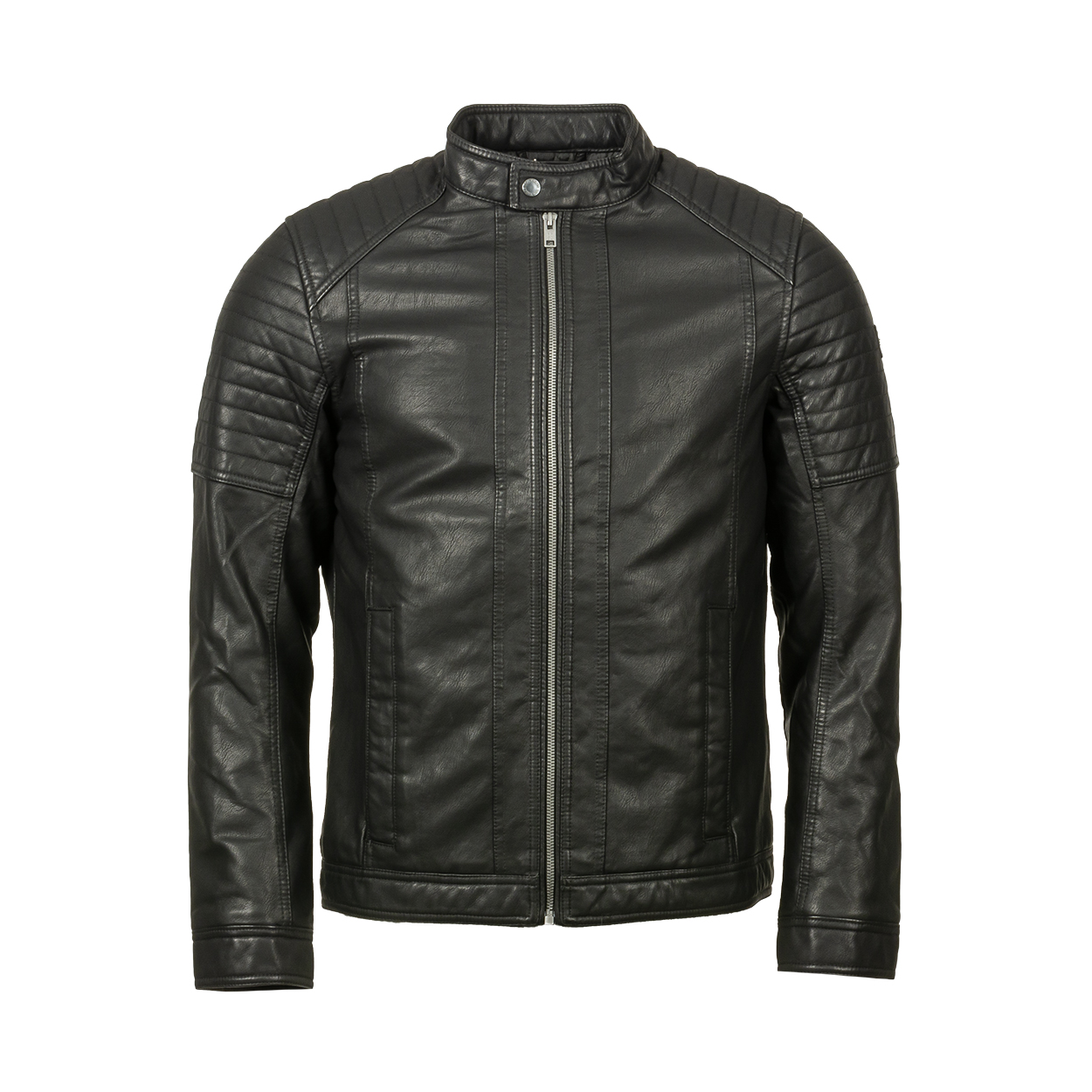 Blouson  biker noir