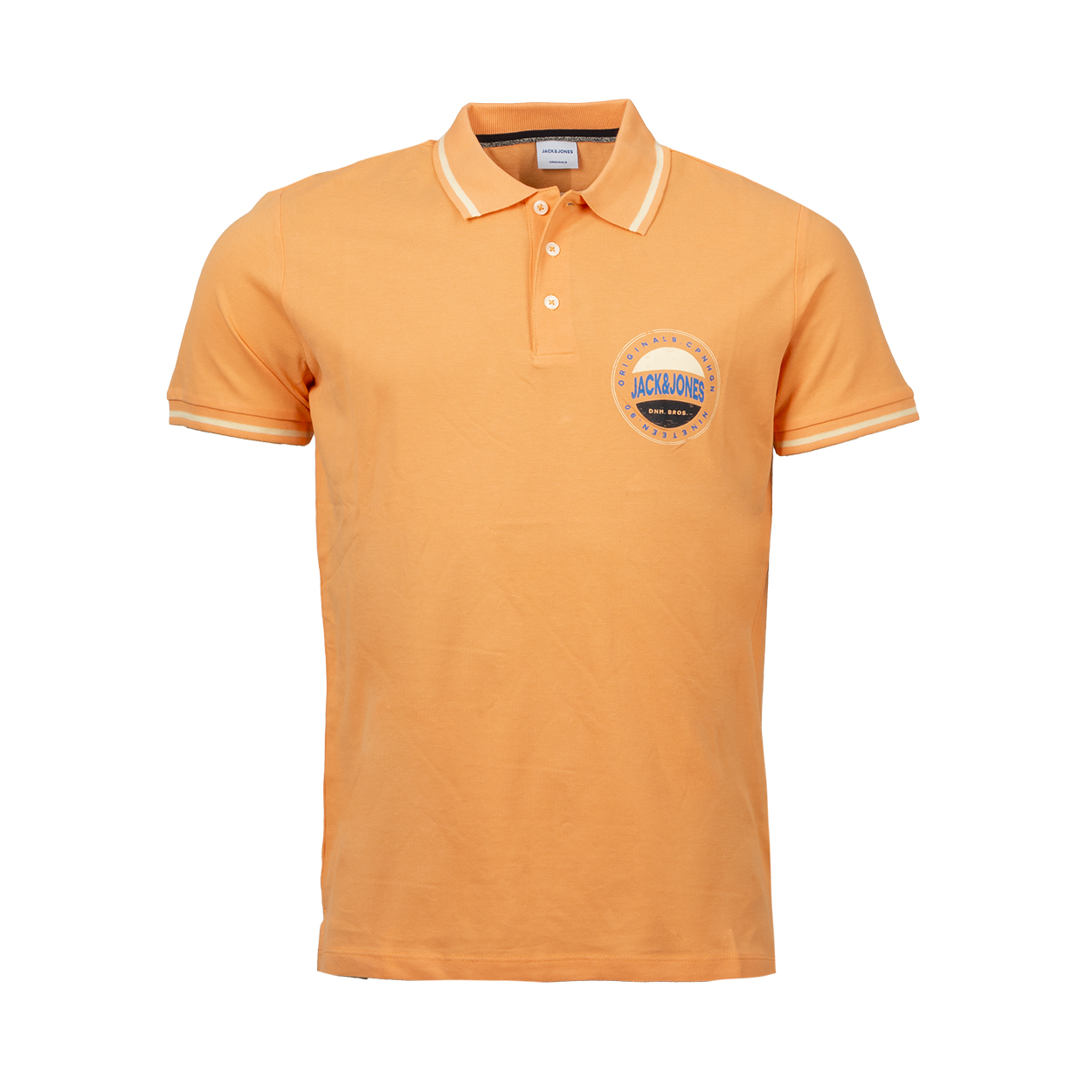 Polo jack and jones jorchristensen en coton corail