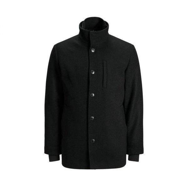 Manteau Jack & Jones Dual en laine mélangée noir