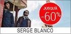 Soldes Serge Blanco homme