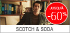 Soldes Scotch and soda homme