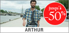 Soldes homme Arthur