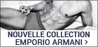 Nouvelle collection Emporio armani homme