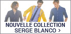 Nouvelle collection Serge Blanco homme
