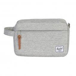 Trousse de toilette Herschel Chapter gris clair chiné