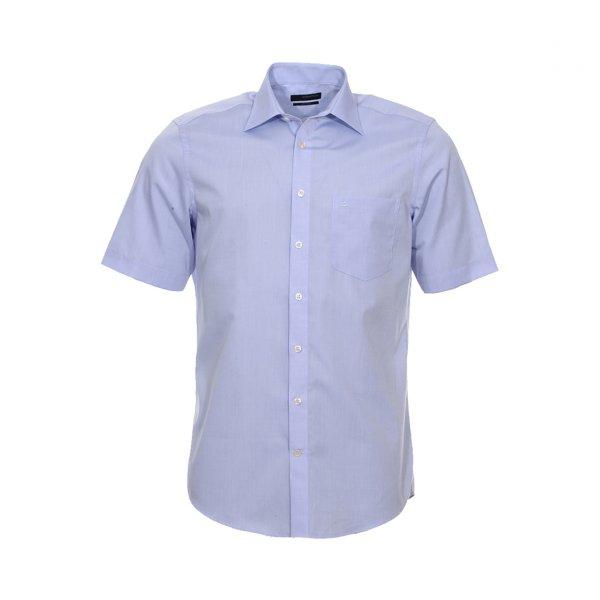 chemisette droite à manche courte seidensticker sans repassage