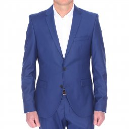 Veste de blazer cintrée Selected One Mylologan bleue